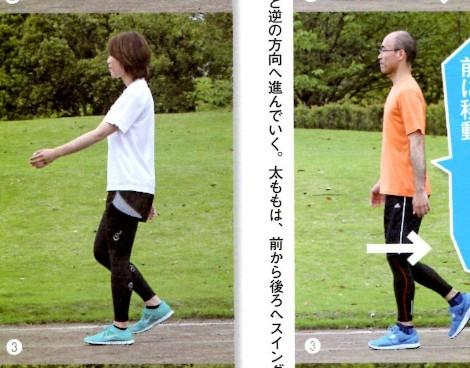 歩き方 比較