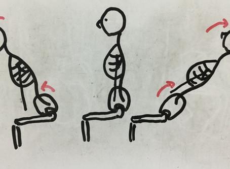 股関節は脱力がカギ・続き