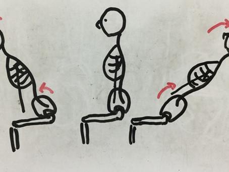 骨盤は、後傾したっていい!