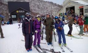 湯沢 動作力 スキーレッスン