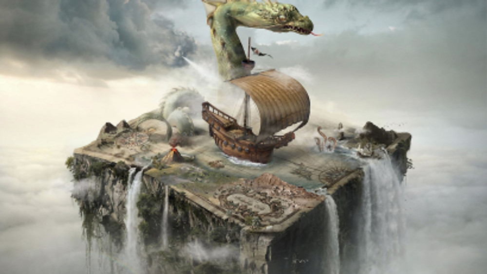 surreal_fantasy_art_boats_maps_digital_art_photo_manipulation_Wallpaper HD_2560x1440_www.paperhi.com