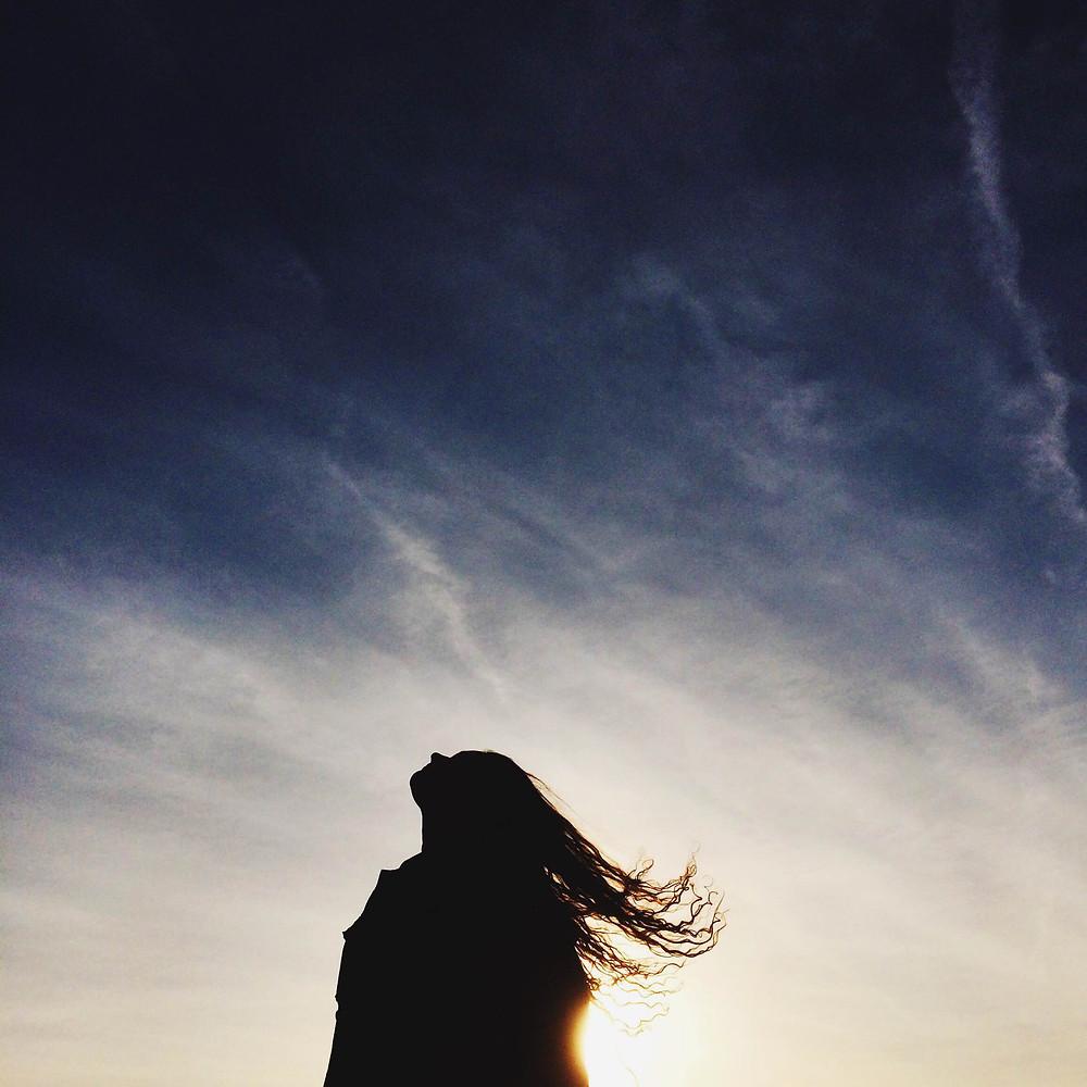 sky-woman-clouds-sun