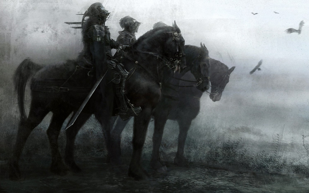 Warrior-Knights-Horses-Fantasy-Art-Artwork