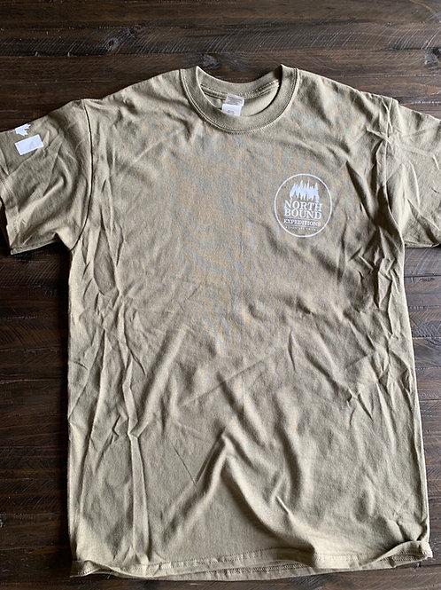 NBX T-Shirt (white on Prairie Dust)