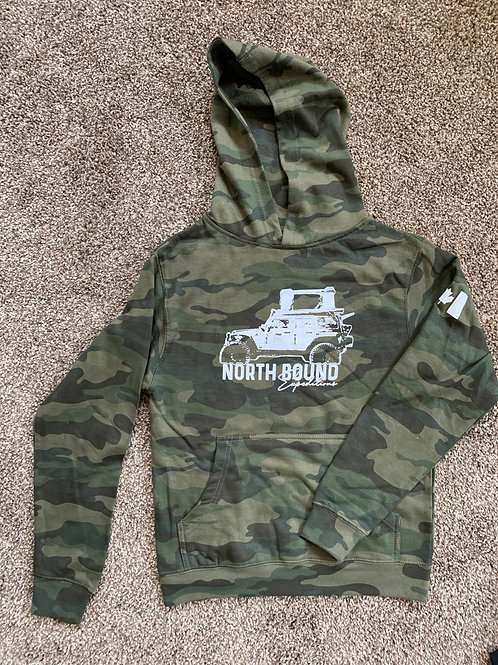NBX Squad Camo hoodie - Youth
