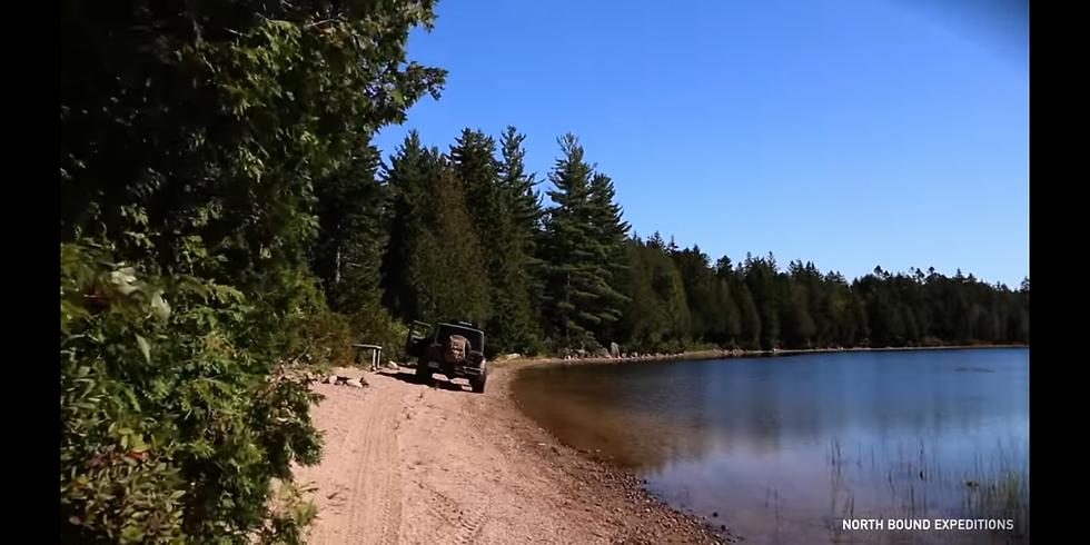 Camping at Great Indian Lake