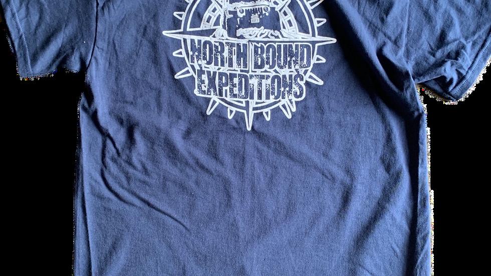 NBX T-Shirt (White on Navy)