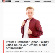 Occhi Mag Official Media Ambassador (Press)