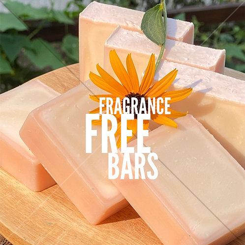 Fragrance Free Bars