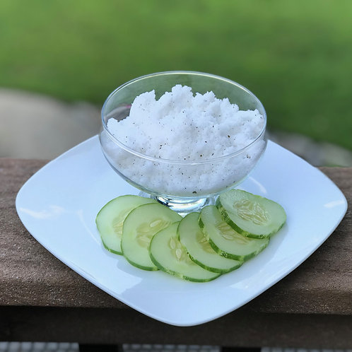 Green Tea & Cucumber Bath Salts