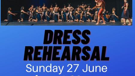 Kapa Haka Dress Rehearsal