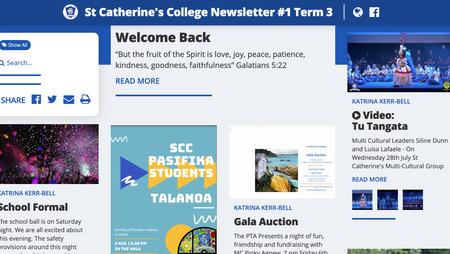 SCC New-look Newsletter