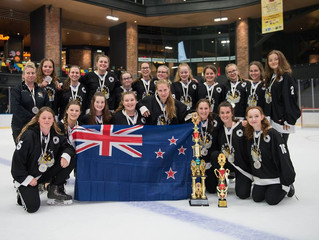 Congratulations to Harriet Fuller competing for New Zealand in the Ice Hockey Women's Challenge Cup