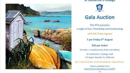 SCC PTA Gala Auction - 6th August @ 7pm