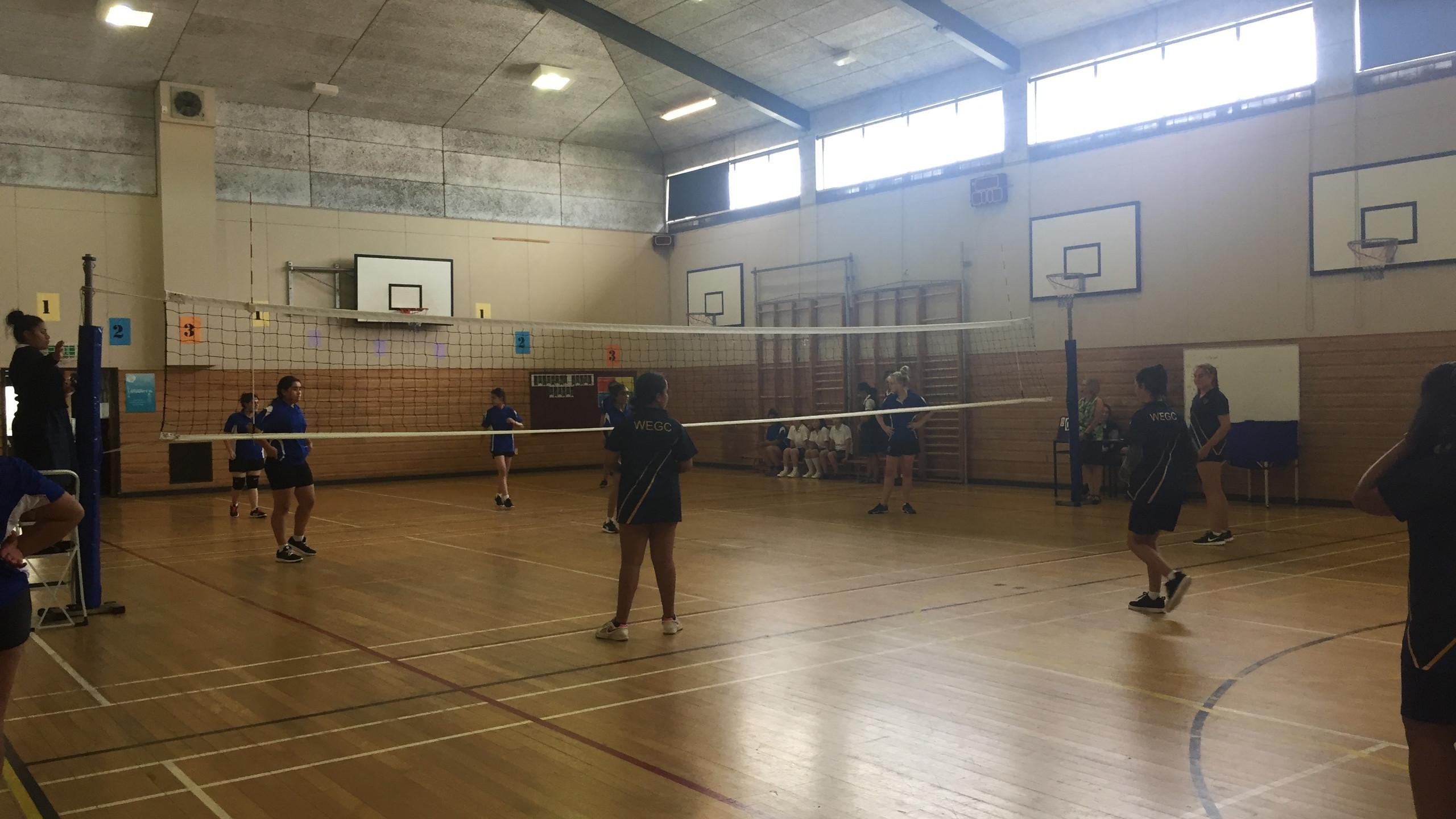 Junior B Volleyball