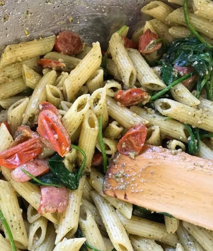 Food Tech Pasta Salad