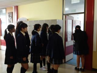 Shibuya High School students 2018