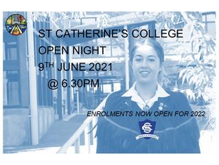 SCC Open Night - 9th June 2021
