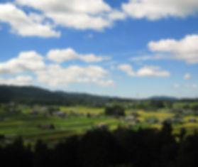 日本一の田園風景