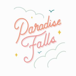 Paradise Falls Lettering