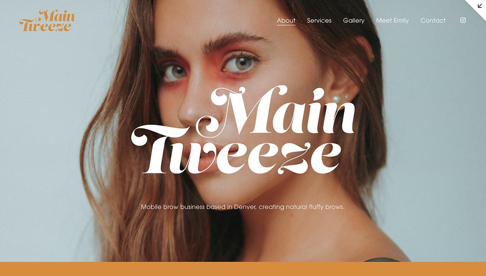 Main Tweeze web page