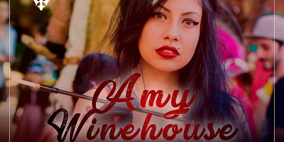 Amy WineHouse - Show imperdível - Armazém São Caetano