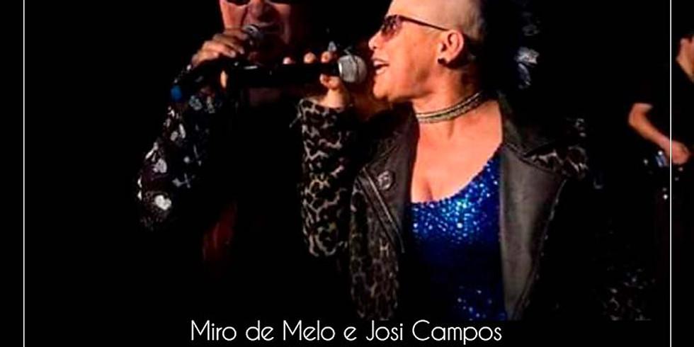 Miro Melo e Josi Campos - Banda Terno Velho - aqui no Armazém Bar