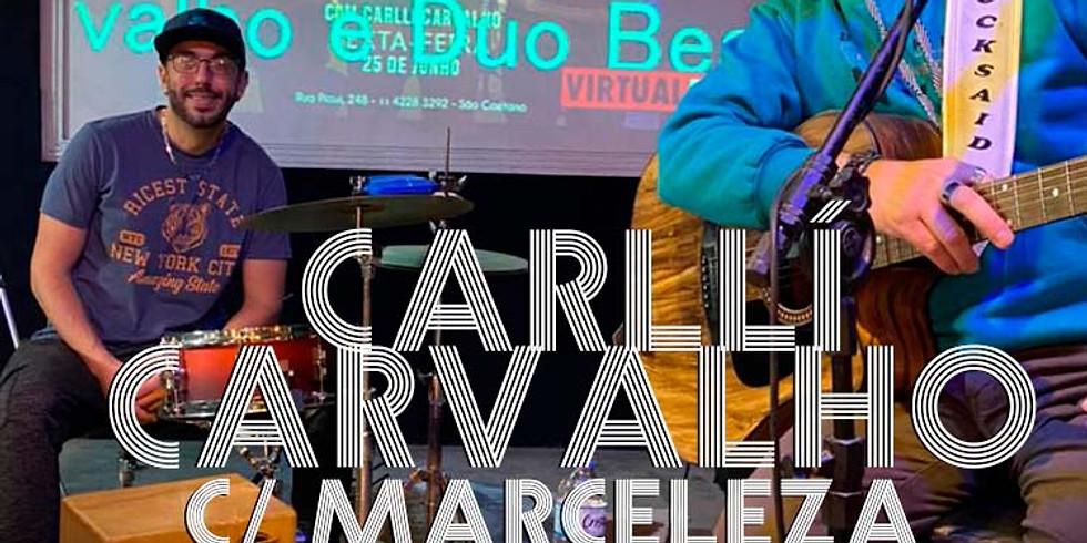 Callí Carvalho c Marceleza - o melhor da Música ao vivo - Um Barzinho e um Violão