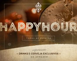 Happy Hour no Armazém São Caetano