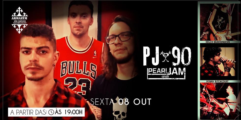 Cover do Pearl Jam no Armazém são Caetano