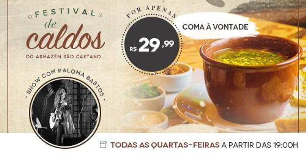 Festival de Caldos no Armazém São Caetano