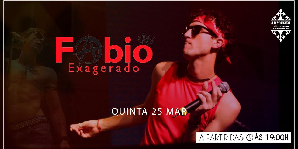 Fabio Exagerado - Cazuza Cover