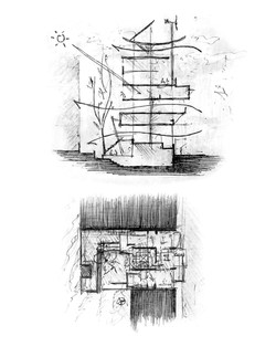 Timber Residence-Concept Sketches