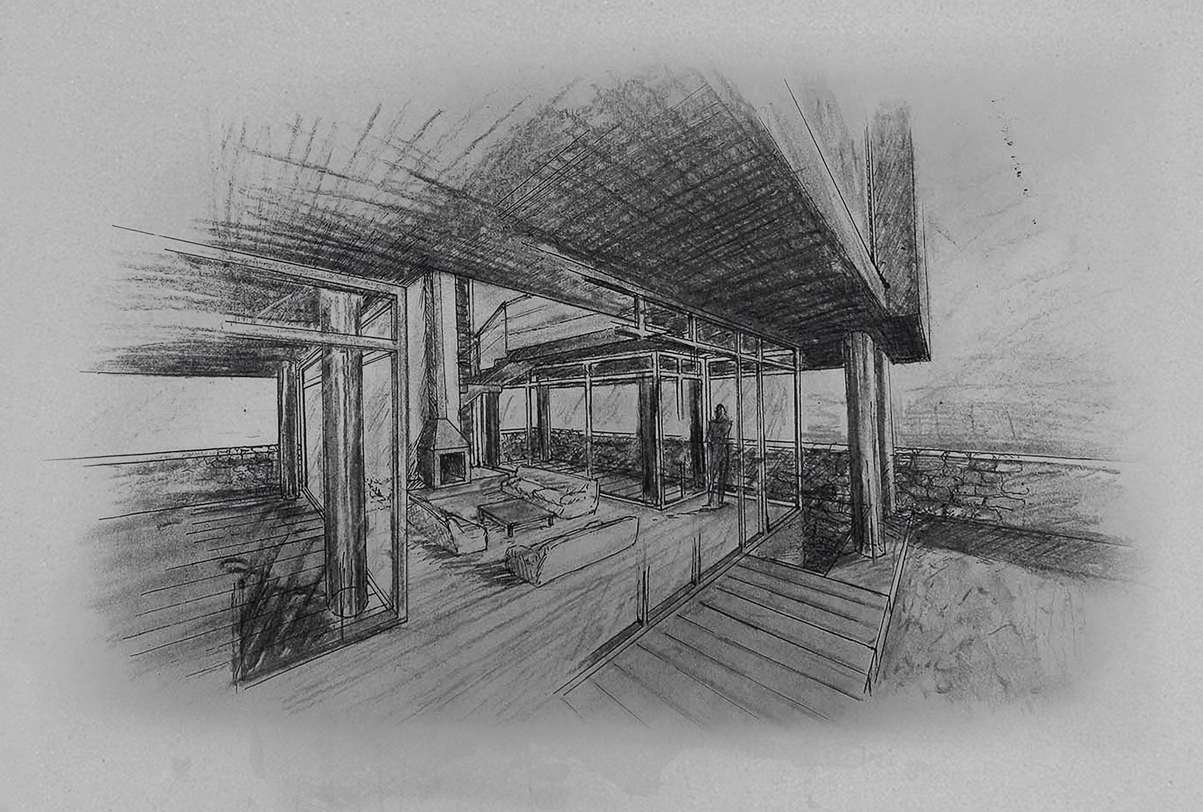 Residence in Filopappou-interior