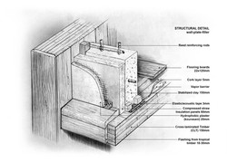 Timber Residence_Structural detail