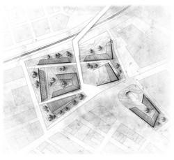 Collective Housing Complex plan