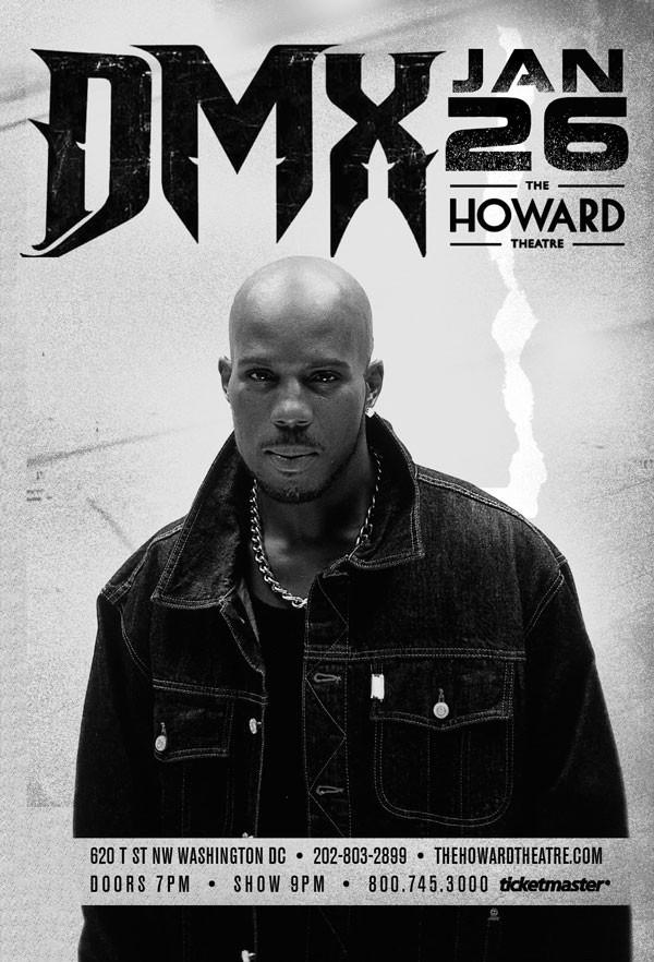 DMX Concert at Howard Theatre