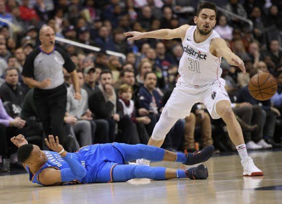 AP Photo- Nick Wass- Wizards Thunder