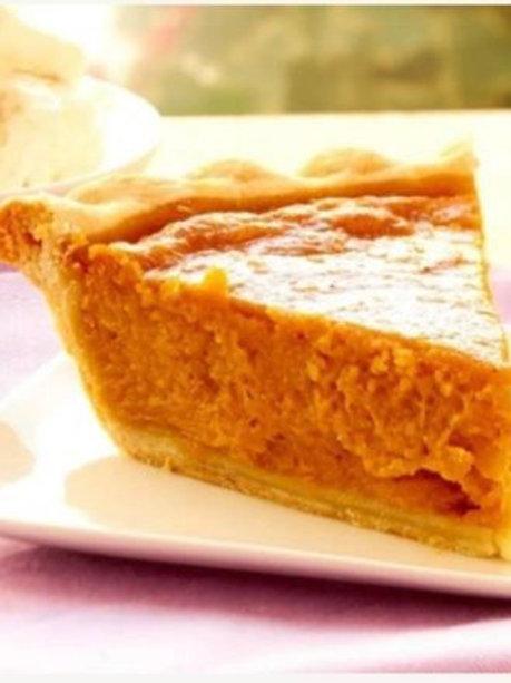 Homemade Deep Dish Southern Sweet Potato Pie