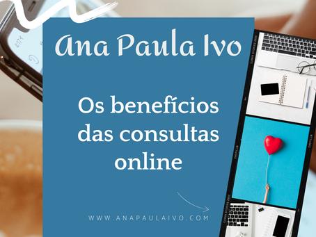 Os benefícios das consultas online