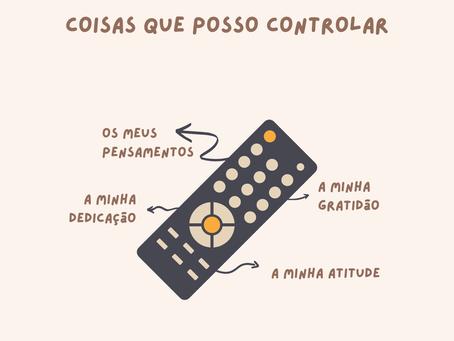 O que posso controlar