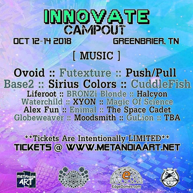 Innovate Campout 10/12/18 Nashville