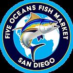 Five Oceans Fish Market logo