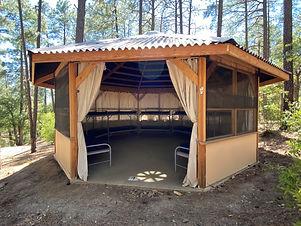 Frontier Village Huts