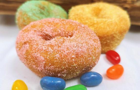 Easter Pastel Variety Donut