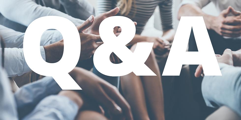 Q & A with Rabbi Zalman