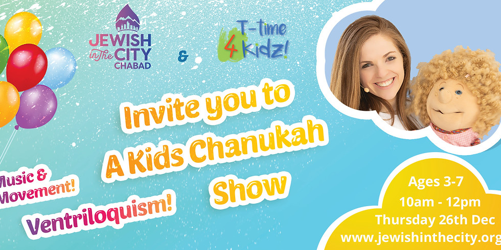 Chanukah with T-time 4 Kidz!