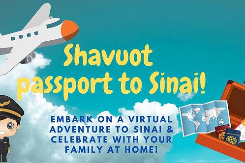 Shavuot Passport to Sinai