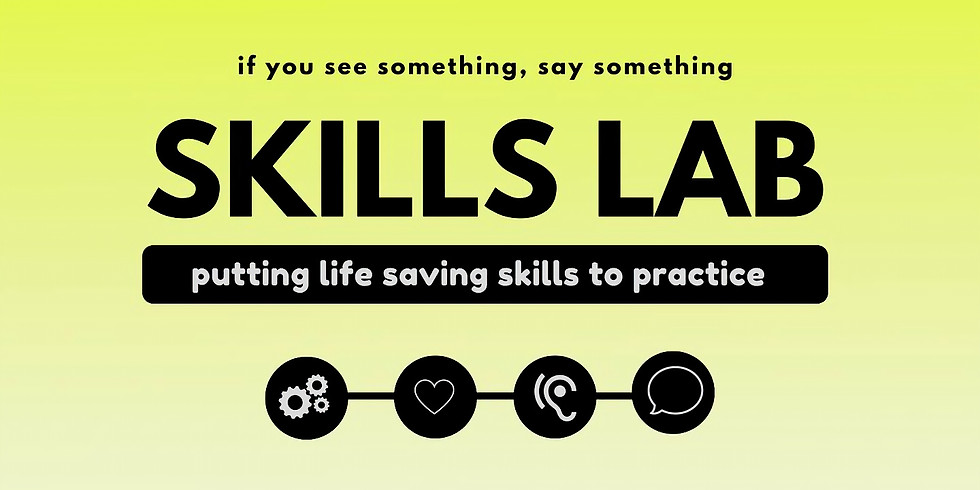 If You See Something Say Something: Skills Lab