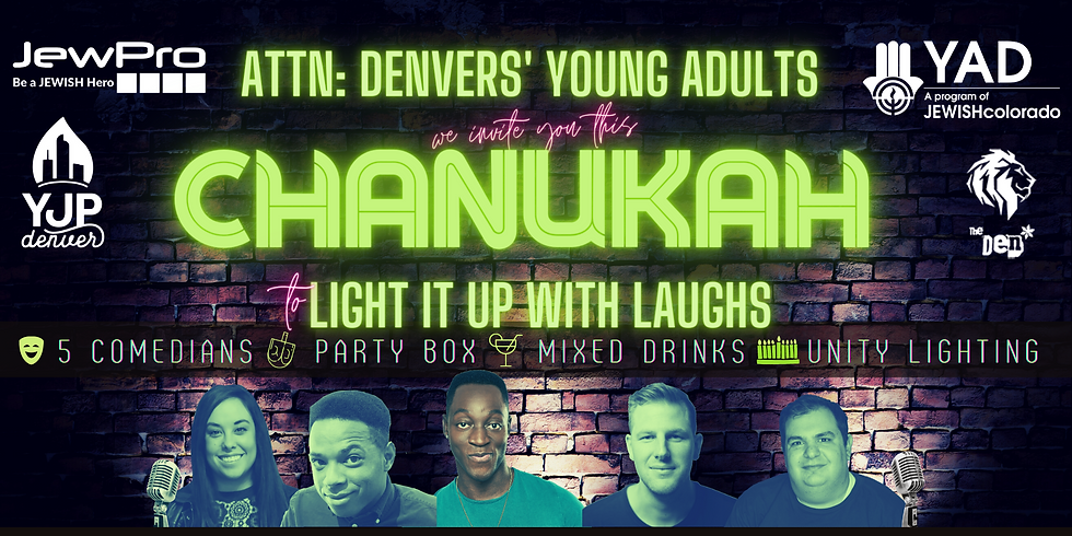 Chanukah - Light It Up With Laughs